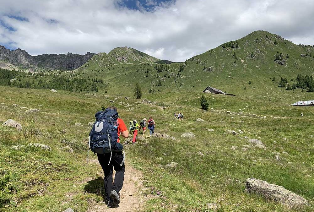 TransVaia: discovering the Lagorai mountain chain